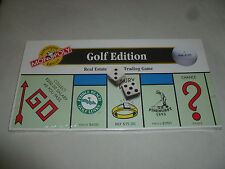 NEW IN BOX SEALED MONOPOLY GOLF EDITION BOARD GAME PARKER BROTHERS 1996 HASBRO >