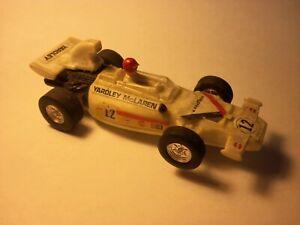 1:43 Scale YARDLEY McLAREN FORMULA 1  ~ Slot Car / Running Chassis ( White )