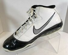 Nike Air Max Speed Turf Shoes Black White High Top Basketball Training Mens 13 W