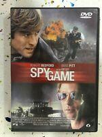 Spygame DVD Robert Redford Brad Pitt Tony Scoot Edizione 2 Dischi Spy Game Am