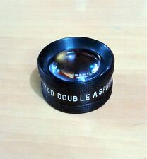 78D Double Aspheric Lens Ophthalmology & Optometry w/ Case