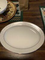 Mikasa Parchment  Oval Serving Platter 11184961