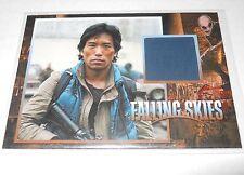 Falling Skies Season 2 Premium Peter Shinkoda Costume Trading Card xxx/375 #CC32