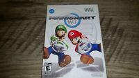 Mario Kart for Nintendo Wii, Complete w with Manual - Tested Free shipping