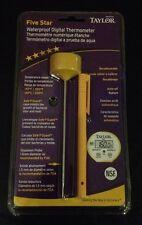 Taylor Waterproof Digital Instant Read Pocket Thermometer 9842 9842FDA