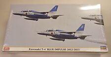 Hasegawa 1/48 Kawaasaki T-4 Blue Impulse 2012/2013 Model Kit 7341
