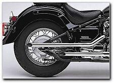 Cobra Pipe Slip-On Exhaust for 2004-11 Yamaha XVS650A V-Star Classic / 2264