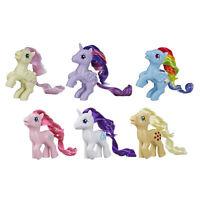 My Little Pony Retro Rainbow Mane 6 -- 80s-Inspired Collectable Pony Figures