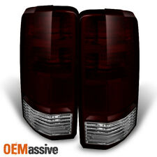 Fit 07-11 Dodge Nitro Dark Clear Tail Lights Driver + Passenger Side Replacement