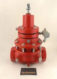 """🌟Kimray 230 SGT-BP-DI, 2"""" (AAR) Gas Back Pneumatic Pressure Regulator, 300psi"""