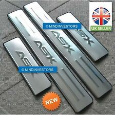 Mitsubishi ASX RVR Stainless Steel Door Sill Scuff Protractor GUARDS for 2010-17