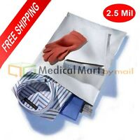 """Clear View Poly Mailer 6/"""" x 9/"""" Shipping Mailing Plastic Envelopes 2 Mil 900 Pcs"""