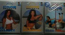 CORE SECRETS / 3 DVD LOT / FUN-DAMENTALS / AB ASSAULT/ FULL BODY WORKOUT
