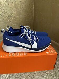 Nike Zoom Fly Flyknit Uk7/eur41 Blue Running Gym Men's