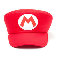 Nintendo Super Mario Bros Shaped Cap With Mario Logo Red