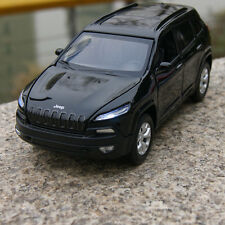 Jeep 2014 Cherokee 1 32 SUV Toys Alloy Diecast Model Cars Sound & Light Black