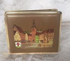 New listing Vintage German Leather Cigarette Holder Case Souvenir. Makers Mark