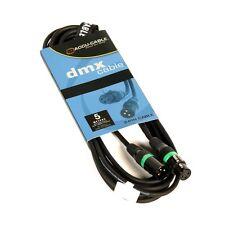 XLR 3-pol DMX-Kabel, Digital AES-EBU 110 Ohm, 5m Länge