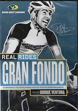 RealRides - Gran Fondo with Robbie Ventura (Dvd, 2013) New
