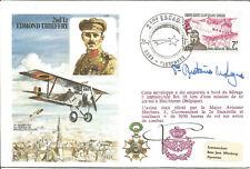 2nd Lieutenant Edmond Thieffry French Flown RAF Cover 1978 Florennes Pmark Z8714