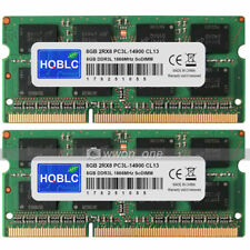 New 16GB KIT 2x8GB PC3L-14900 DDR3-1866Mhz 204PIN SoDIMM Laptop Memory Module