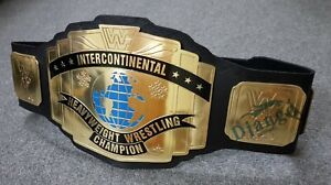 WWE INTERCONTINENTAL CHAMPIONSHIP REPLICA CLASSIC WWF BELT 2 MM THICK PLATES