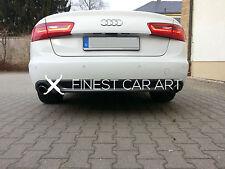 Für Audi A6 4G C7 VFL Diffusor Spoiler Limousine Avant 2.7 3.0 TDI TDI