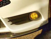 YELLOW FOG LIGHT TINT FOR FORD FIESTA MK 5 6 7 8 ZETEC S ST ETC