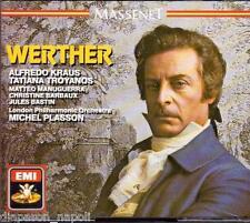 Massenet: Werther / Plasson, Kraus, Troyanos, Manuguerra - CD Emi