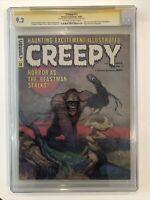 Creepy #11 CGC 9.2 SS Angelo Torres rare signature - 1966 Frank Frazetta Cover
