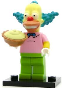 LEGO Minifigures Simpsons Series 1 -  Krusty the Clown - New Out of Package!