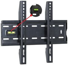 15 to 42 Inches Fixed TV Wall Mount Bracket with Built-In Spirit Level UKED