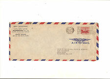 US Navy Department Air Mail Envelope 5 Cent Stamp 1948 Honolulu Hawaii Chief