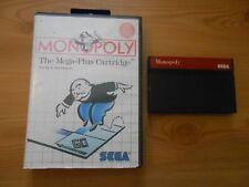 Sistema de monopolio para Sega Master