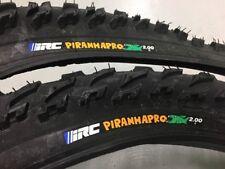 Set Of Front & Rear Vintage NOS IRC Piranha Pro 26 x 2.0 Mountain Bike Tires