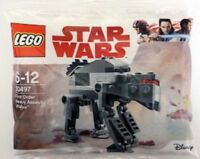 Genuine Lego Star Wars First Order Heavy Assault Walker Polybag 30497 new sealed