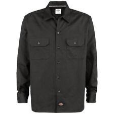 Camicie casual da uomo neri Dickies