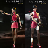 Hot Heart FD006b 1/6 Ms.Wong Resident Evil Action Figure Toy No body IN STOCK