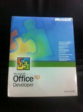 Microsoft Office XP/2002 Developer, retail, inglese con fattura IVA