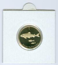 Slowenien 1 Tolar 2002 PP  Nur 800 Stück!