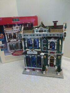 Rare Lemax Heritage Furniture Store #35842 Christmas Village 2003 Building iBox