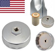 Aluminum 74mm Oil Filter Cap Wrench For Porsche Dodge VW Mazda Audi Chrysler #B