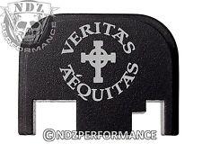 for Glock Rear Plate 17 19 21 22 23 27 30 34 36 41 Blk G1-4 Veritas Aequitas 4