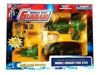 Bandai 2001 Gundam Mobile Suit Cruiser Peer Gynt Deluxe Battleship Playset - New