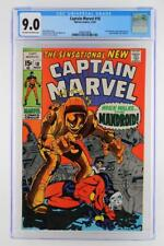 Captain Marvel #18 -NEAR MINT- CGC 9.0 VF/NM - Marvel 1969 - Carol Danvers App!