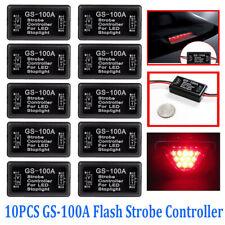 10x 12V-24V Flash Strobe Controller Flasher Module for LED Brake Stop Light Lamp