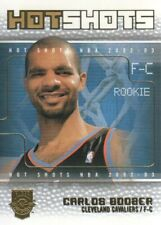 2002-03 Fleer Hot Shots Hot Shots Inserts #9 Carlos Boozer Cleveland Cavaliers