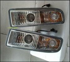 A Pair Clear Driving Fog Light Lamps No Bulb For Lexus LX470 1998-2002