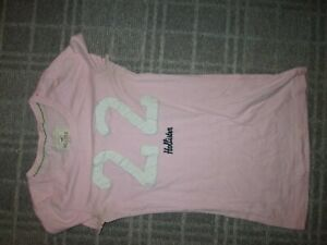 HOLLISTER SIZE S-Girls T-SHIRT TOP AGE 13-14-15-16 CASUAL EVERYDAY LEISURE BEACH