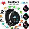 Bluetooth Bracelet Smart Watch Heart Rate Blood Pressure Monitor Fitness Tracker